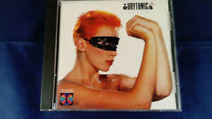 Eurythmics-Touch-CD-1983-First-U-S-version