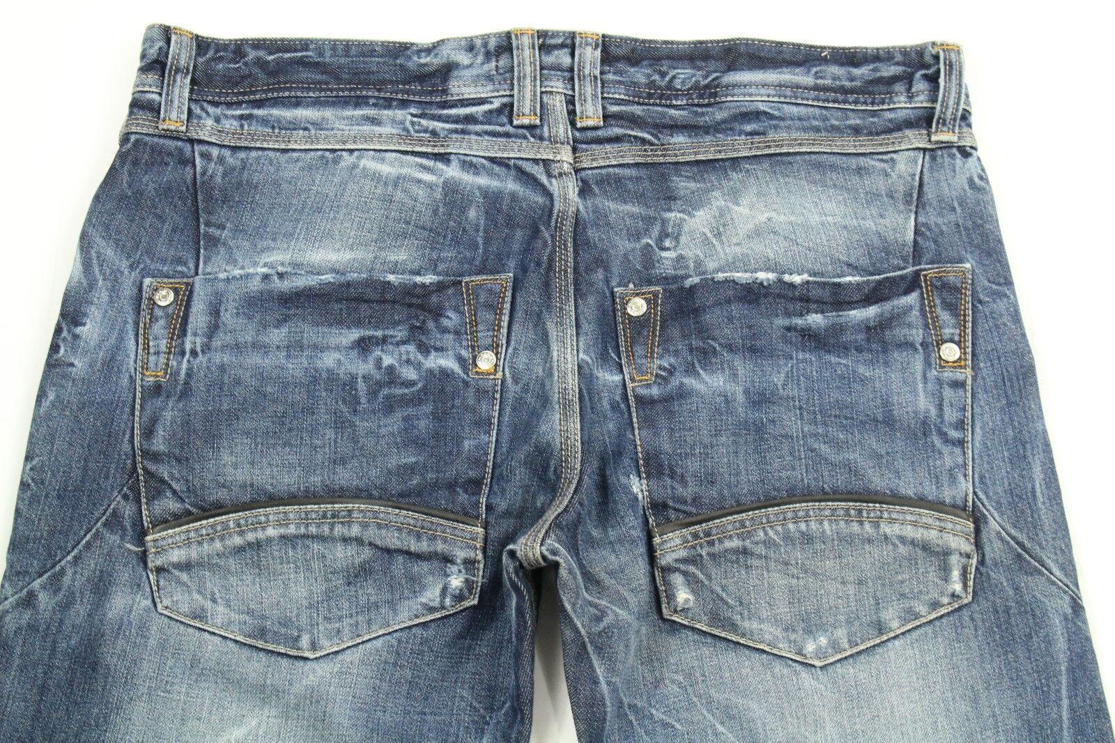 Martin Kiste Herren Jeans Distressed Stiefelcut Jeans Größe 50 (Us 34)  | Toy Story  | Angenehmes Gefühl  | Queensland