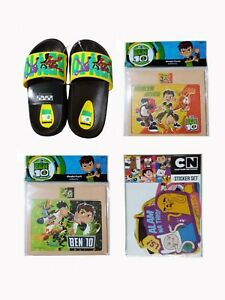 Ben10-Snickers-and-Puzzle-Set-with-Cartoon-Network-Sticker