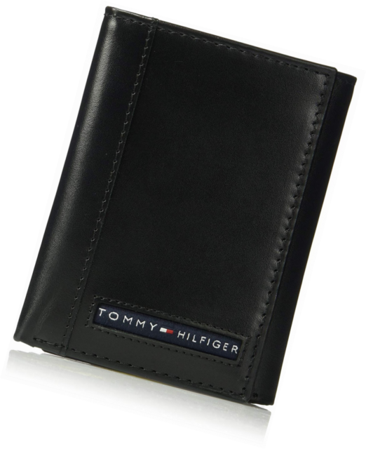 Tommy Hilfiger Men/'s RFID Blocking Trifold Wallet