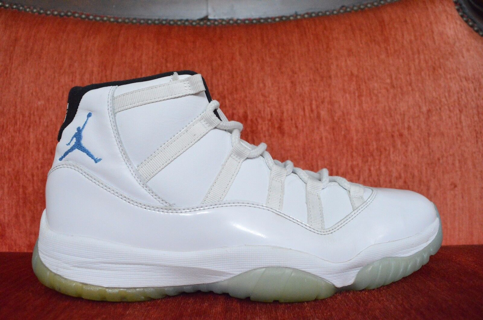 Nike Air Jordan Retro 11 XI Legend Blue Columbia Comfortable Wild casual shoes