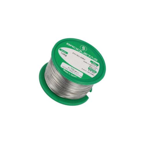 ECO4-05//01H souder Sn96 5Ag3Cu0,5 fil 0.5 mm 100 g FLUX NO CLEAN 2.5/%
