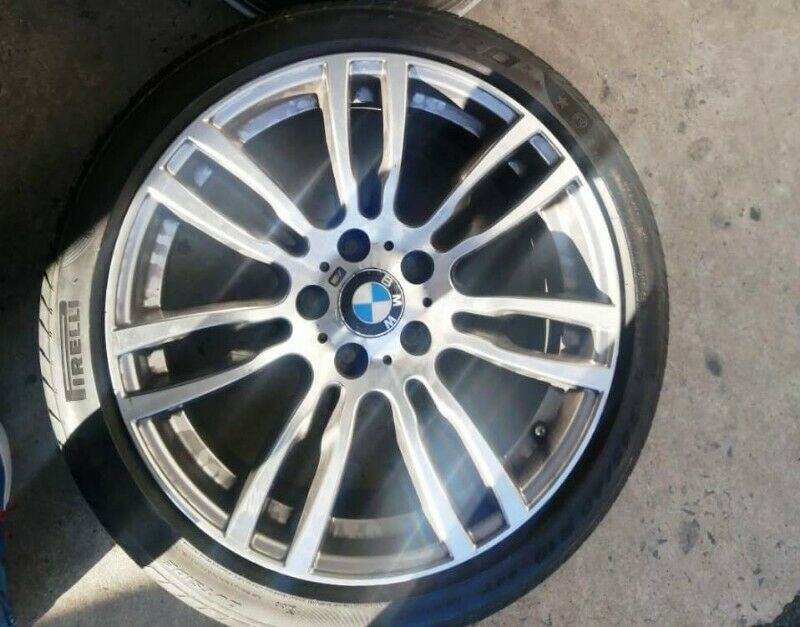 Mag with tyre BMW F30 REAR motorsports