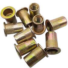 Us Stock 50pcs M6 X 1 X 195mm Lfk Steel Rivet Nut Rivnut Insert Nutsert