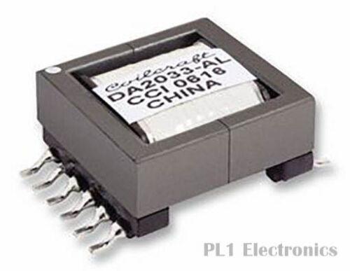 0.015 Ohm 1.5 Kv 1:10 10 Μh Coilcraft DA2033-ALB Puls Transformator