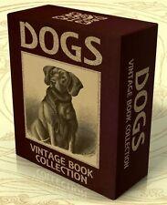 DOGS 65 Vintage Books + 200 Hi-Res Images on DVD Breeding, Dog Breeds, Training