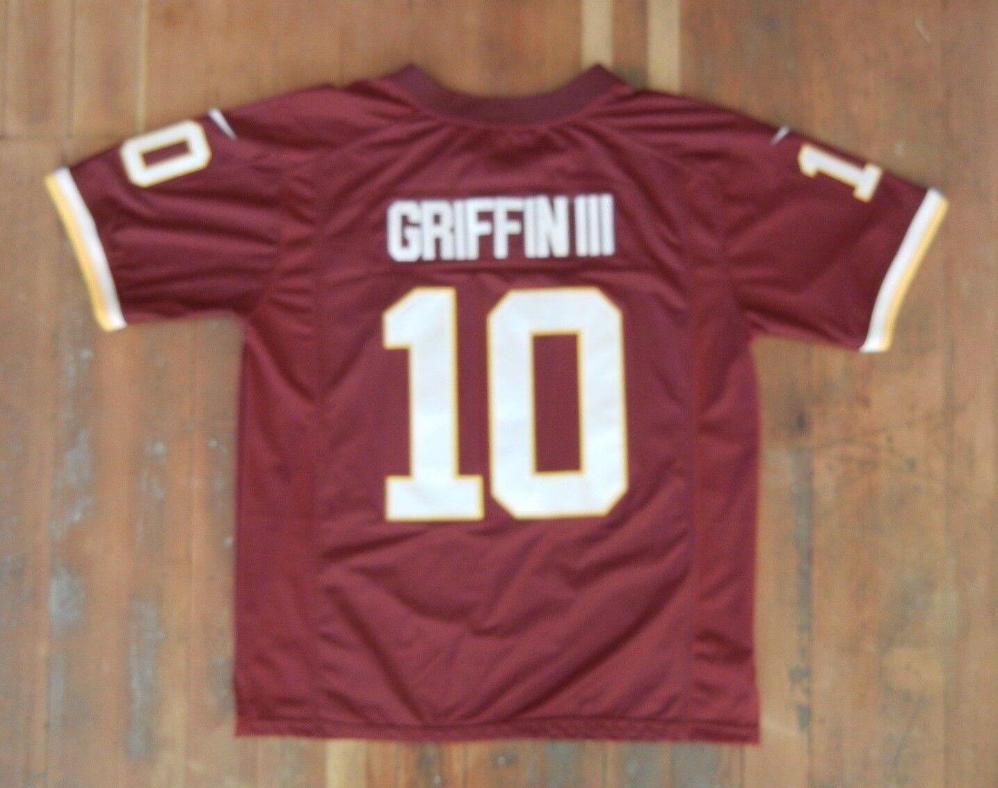 WASHINGTON REDSKINS Authentic Sewn Football RG3 ROBERT GRIFFIN III JERSEY Sz XL