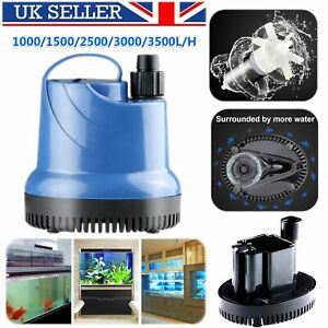 Details About Submersible Water Pump Fish Pond Aquarium Tank Waterfall Fountain Sump Features