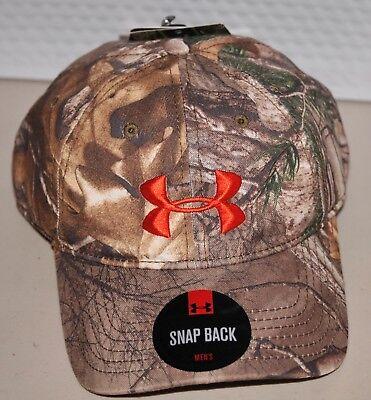 7e2c7af5071 Mens Under Armour UA Camo Cap Adjustable Snapback Hat 1238885 946 ...