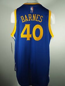 watch b19c3 347d1 Details about Golden State Warriors NBA Youth Size Harrison Barnes Adidas  Swingman Jersey New