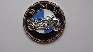 Details about Vintage BMW motorcycle badge bike emblem badge - BMW motorrad  old timer Plakette