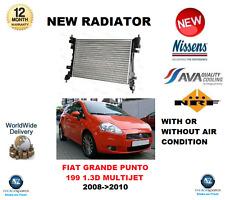 Per FIAT GRANDE PUNTO 199 1.3D Multifiamme 2008 - > 2010 NUOVO RADIATORE ** OE Quality **
