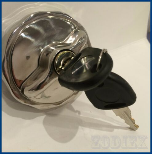 Stainless Steel Locking Fuel Gas Tank Filler Cap  MERCEDES BENZ Classic Pagode