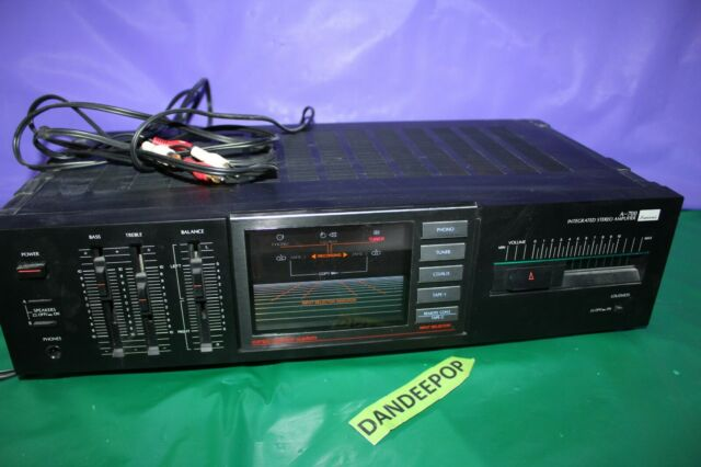 Sansui Vintage A-700 Integrated Stereo Amplifier With Compu Selector System