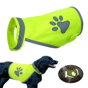 Reflective-Safety-Dog-Summer-Clothes-Dog-Vest-Coat-with-Paw-Print-For-S-XL-Dogs