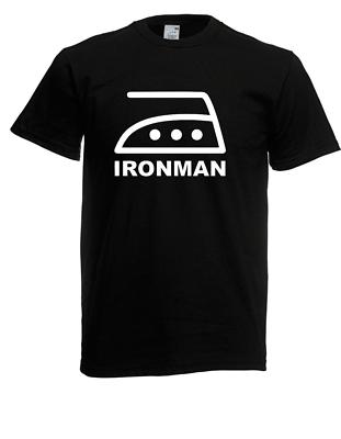 Herren T-shirt Ironman I Sprüche I Fun I Lustig Bis 5xl