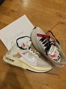 watch 7f268 9e812 Image is loading NIKE-X-OFF-WHITE-THE-TEN-OG-ZOOM-