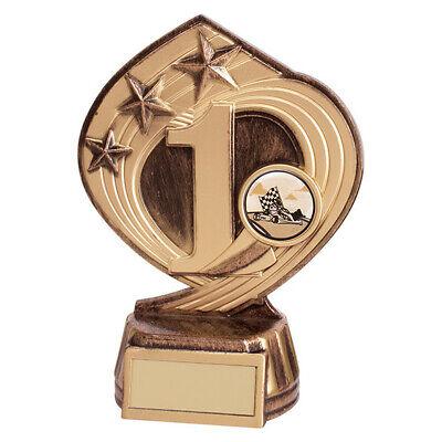 FREE LUXURY ENGRAVING * ACHIEVEMENT TROPHY Flower Power Children/'s Award