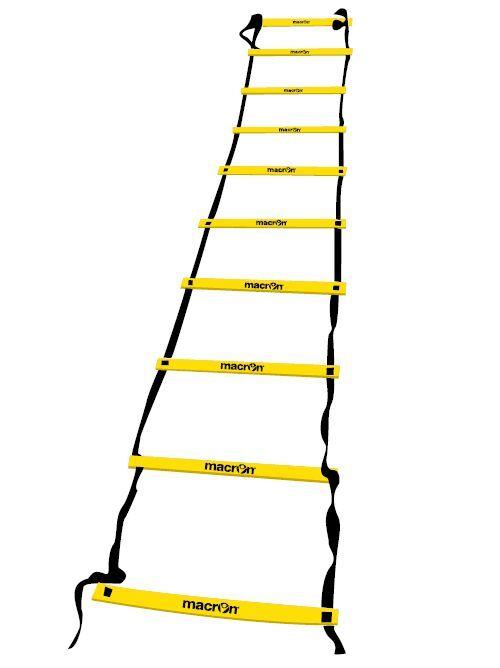 Scala Scaletta MACRON allenamento Agility Ladder metri 4 metri Ladder 10 pioli Calcio Rugby 67003f