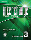 Interchange Level 3 Student's Book with Self-study DVD-ROM and Online Workbook Pack by Jack C. Richards (Mixed media product, 2012)