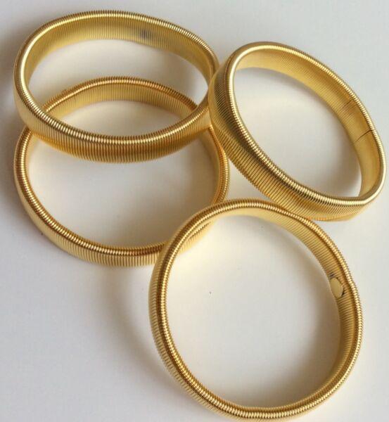2 Paia Di Metallo Stile Vintage Manica Titolari Giarrettiere/oro/camicia Arm Band Materiali Accuratamente Selezionati