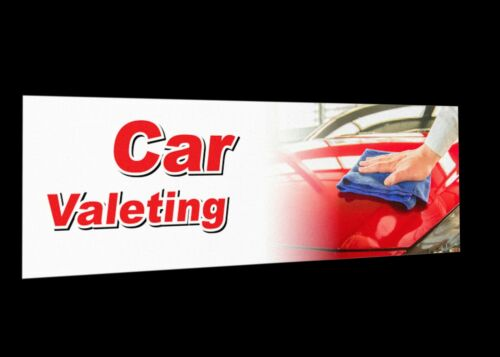 Details about  /Car Valeting Polishing Buffind Detai Signage Colour Sign Printed Heavy Duty 4580