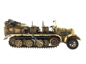 RARE-1-32-Diecast-Unimax-Toys-Forces-of-Valor-German-Halftrack-Hauler-SdKfz-7