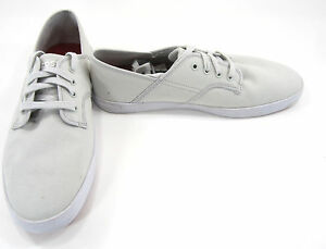 88fbe523b5c73c LaCoste Shoes Andover CL Canvas White Red Sneakers Mismatch 9.5 8.5 ...