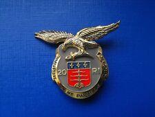 Pucelle 20e Régiment d'Infanterie, Réserve insigne militaire en Argent