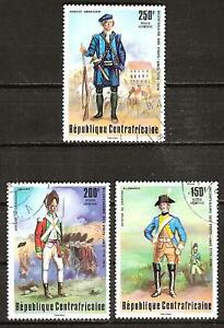 CENTRAL AFRICA # C141-3 Used U.S. BICENTENNIAL UNIFORMS xtvYb03c-07154154-701039959
