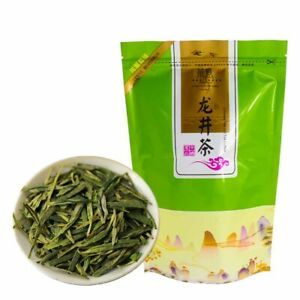 2019 лунцзин зеленый чай китайский органический корм Драконий колодец Te Лун Цзин чай 250g