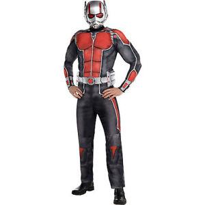 Ant Man Lusso Costume Adulti Marvel Comics Nuovo Rubini Taglia ... 32126474c32f