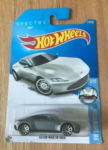 Hot Wheels Aston Martin DB10 Spectre 007-2016 HW Showroom New In Box