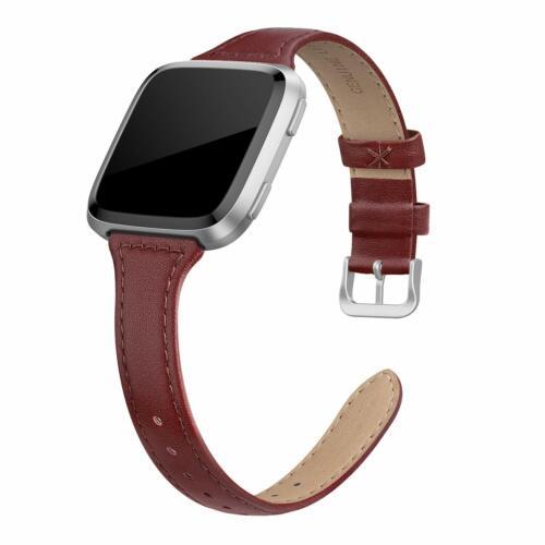 Fitbit Versa Lite /& SE//Fitbit Versa Leather Bands Compatible Fitbit Versa 2