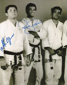 Details about Royce & Rolker Gracie Signed 11x14 Photo UFC Jiu-Jitsu  Rickson Picture Autograph
