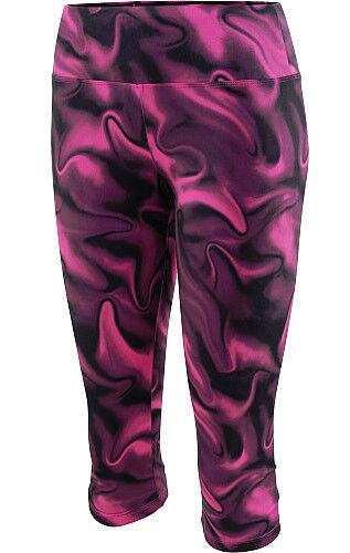 Studio  capezio womens canberra print capris berry medium dancewear ballet yoga  the classic style
