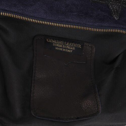 Patches Sticker Aufnäher Stern Wild Leder Umhänge Cross Bag Tasche Clutch Blau