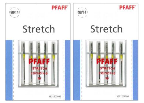 821207096 2x PFAFF Stretch Nadeln Stärke 90 System 130//705 H-S