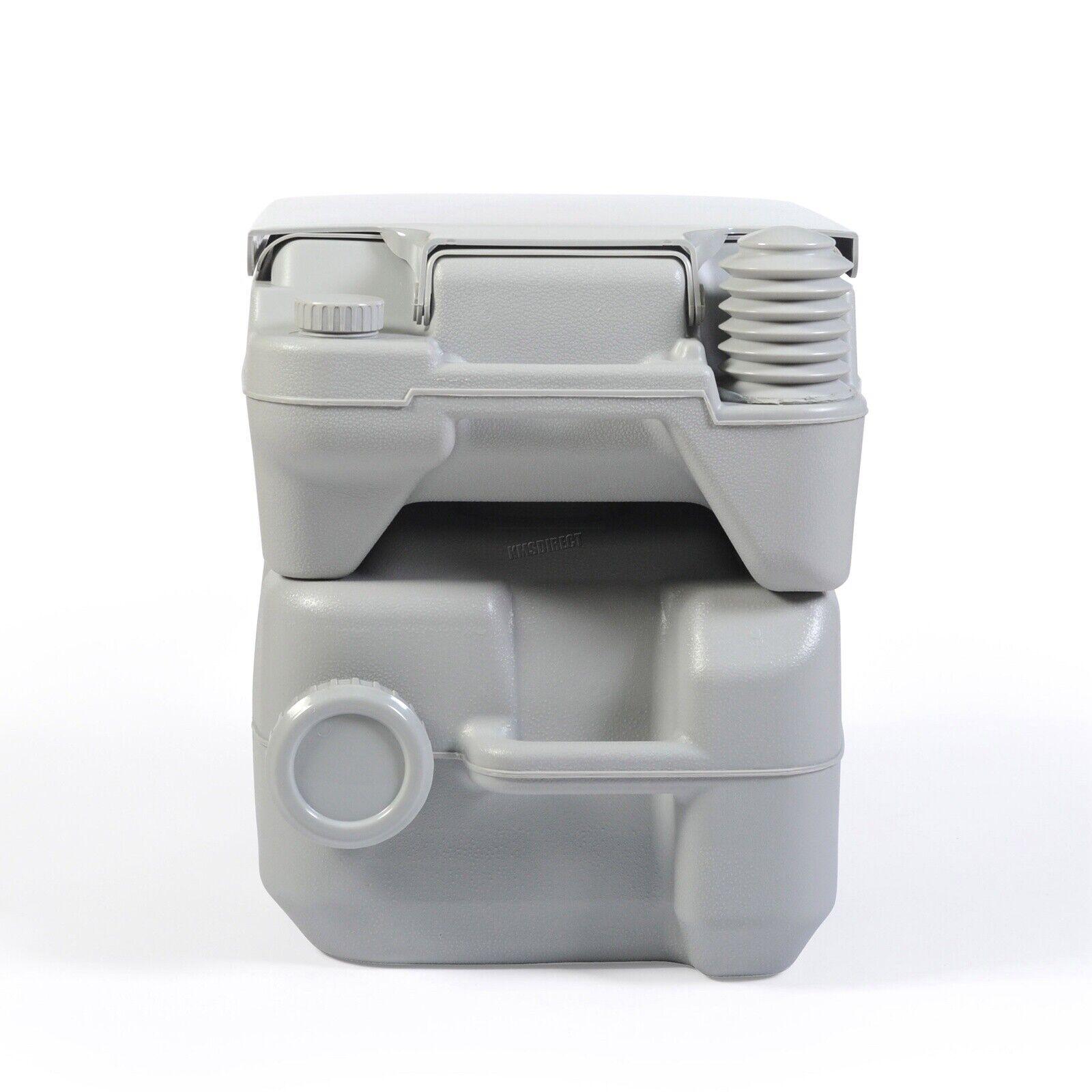 FoxHunter 20L Portable Toilet Flush Caravan Camping Travel WC Loo Porta Potty 8