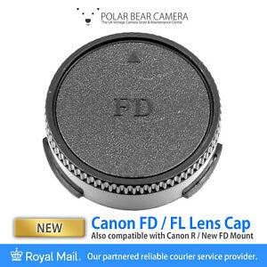 Canon FD FL R Mount Rear Lens Cap [UK STOCK]