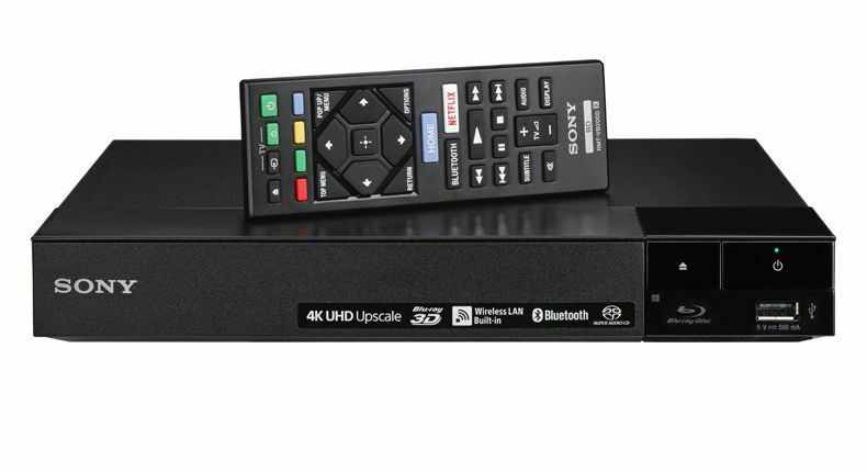 Sony BDP-S6700 4K Upscaling 3D Streaming Blu-Ray Disc Player w/ WiFi & Bluetooth bluetooth disc player sony streaming upscaling wifi