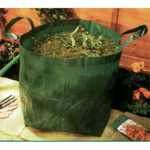 Piccolo Pop Up Giardino Tidy Bag-Rifiutare Forte Carry spazzatura Sacco Heavy Duty