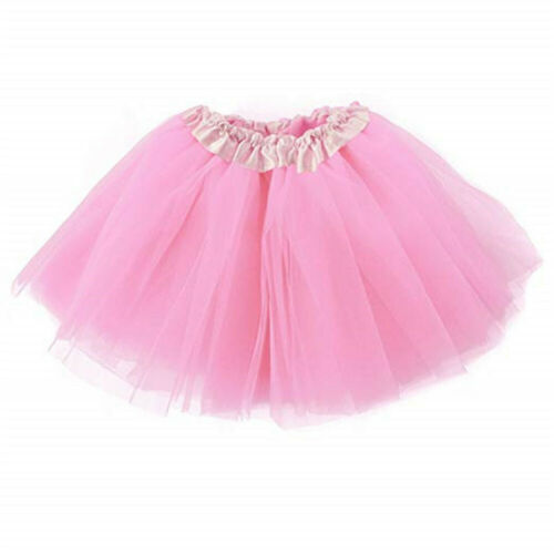 3 LAYERS Tutu Skirt Women Lady Girls Adult//Kids Fancy Dress Skirts Hen Party ^^C