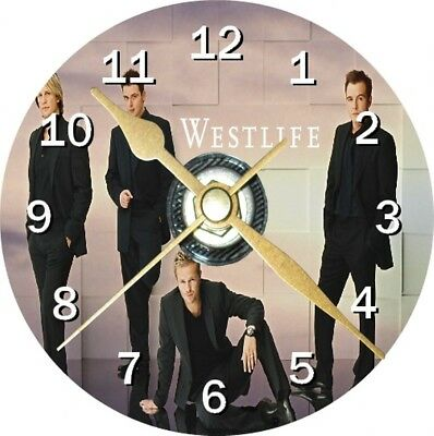 Westlife Novelty Cd Clock Can be personalised
