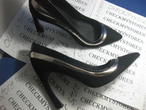 NIB NEW ADRIANNA PAPELL Diandra Two-Toned Pumps PREMIUM LEATHER DESIGNER SHOES