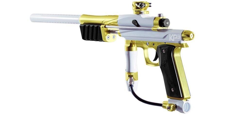Azodin KP3 Kaos Pump Markierer Special Edition - titanium/gold