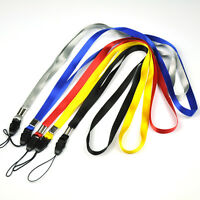 Lot of 5pcs Assorted Neck Straps Lanyards f Camera Cell Phone MP3 ID Card Badge