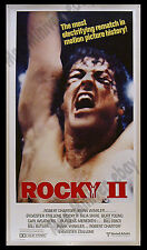 "THE #1 GREATEST ROCKY Movie Poster! 41""x77"" Stellar AMAZING RARE STYLE 3-Sheet!!"