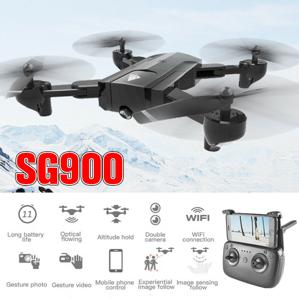 SG900 Wifi FPV HD Camera Mini Drone 2.4Ghz RC Quadcopter Altitude Hold Hover
