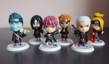Anime Set 11 Naruto Shippuden Akatsuki Member Toy Figure Figurine Doll New